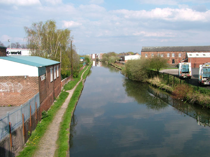 View from Broadheath bridge (Bridge 30)