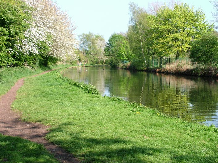 The canal at Grappenhall
