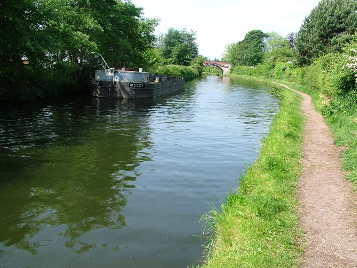 The canal at Stockton Heath