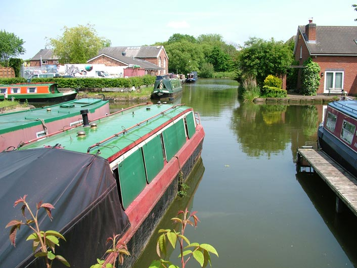 Norton Arm of the Bridgewater Canal