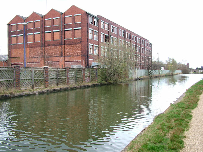 Old mill building, Leigh