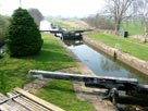 First lock of the Glasson branch