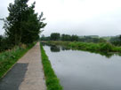 Unusual (but gentle) towpath